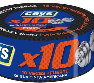 Ceys lanza la X10, diez veces más fuerte que la cinta americana