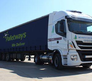 Palletways incorpora la tecnología GLP para sus rutas con Sevilla y Extremadura