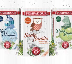Pompadour apunta al target infantil con sus nuevos lanzamientos