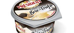 Président presenta su versión de crema brie con trufa