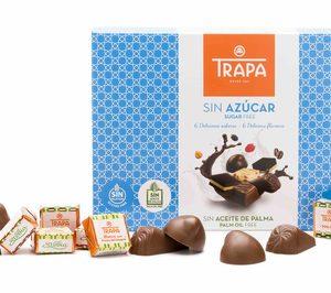 Trapa presenta bombones sin azúcar ni aceite de palma