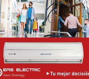 Nueva serie de Cortinas de aire de Eas Electric