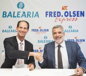 Baleària entra en el transporte marítimo a Canarias de la mano de Fred. Olsen