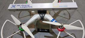 Gefco España experimenta con drones en labores de inventario