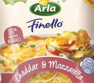 Arla lanza gama de quesos rallados con cheddar & mozzarella