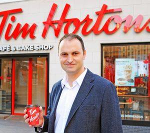 Ismael Daneluz liderará la expansión de Tim Hortons en España