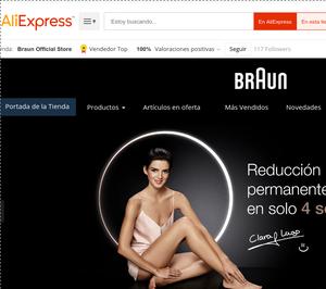 Braun se estrena en AliExpress