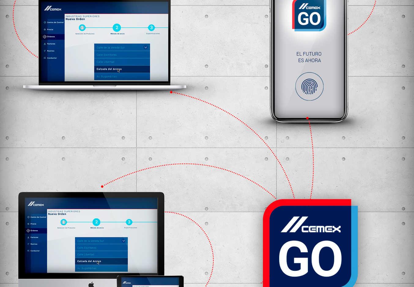 Cemex presenta en su plataforma Cemex Go en España