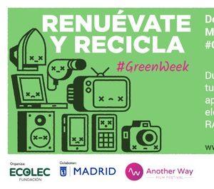 La Fundación Ecolec celebra una nueva edición de #GreenWeek en Madrid