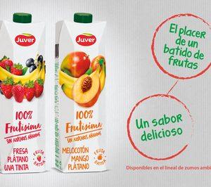 Juver innova con la gama 100% Frutísima