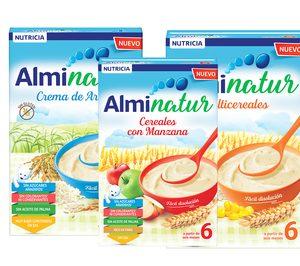 Danone Nutricia lanza la gama de cereales infantiles Alminatur