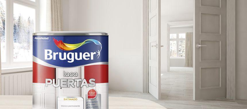 Bruguer lanza su nueva laca para puertas