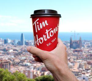 Tim Hortons da el salto a Barcelona
