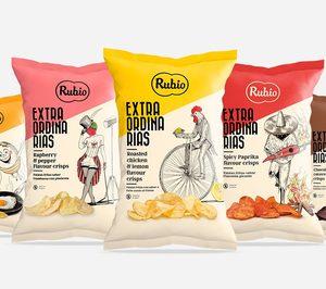 Rubio Snacks despega de la mano de Mercadona y la exportación