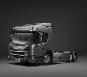 Scania lanza un camión electro hibrído enchufable