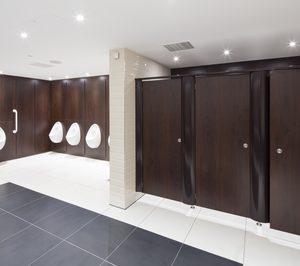 Formica incorpora nuevos formatos a la colección Washroom