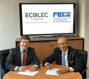 Ecolec y Fece firman un protocolo para la gestión del RAEE vía venta online