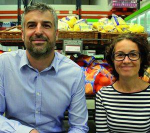 """José María Corrales, Inmaculada López Montalvo (Supersol Spain): """"La sección de frutas y hortalizas supone el 10% de la facturación"""""""