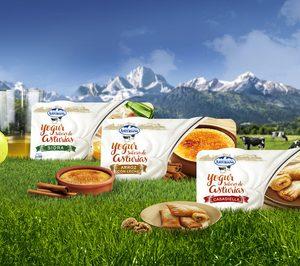 Central Lechera Asturiana incorpora tres yogures con los Sabores de Asturias