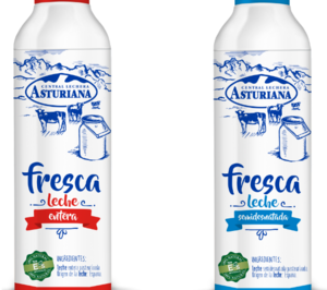 Central Lechera Asturiana presenta dos variedades de leche fresca