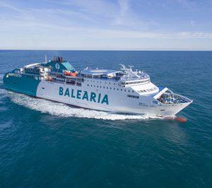 La UE subvenciona el 20% del proyecto de GNL de Baleària