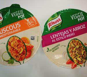 Unilever España suma el reclamo Veggie a platos y helados