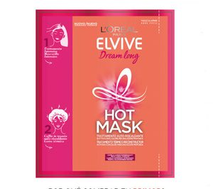 Elvive Hot Mask introduce en gran consumo la mascarilla capilar térmica