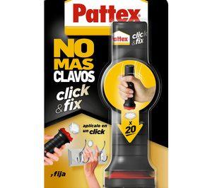 Pattex amplía su oferta con No Más Clavos Click & Fix