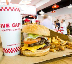 Las hamburguesas de Five Guys llegan a Valencia