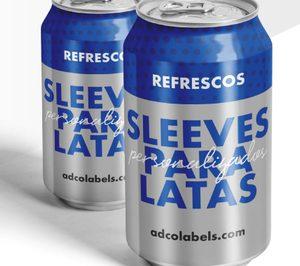 Adco apuesta por la personalización de latas con sleeves
