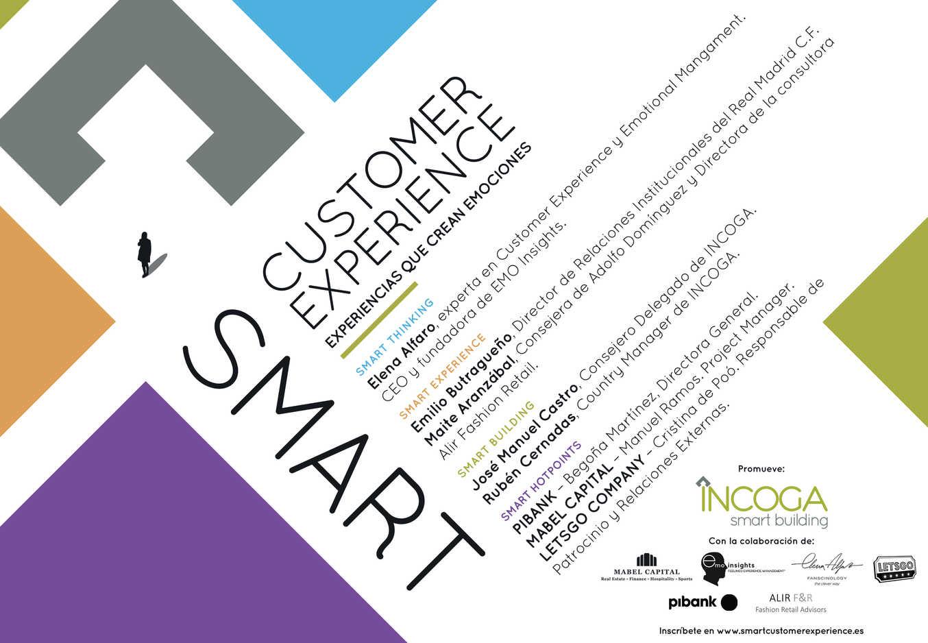 Incoga celebrará el 24 de octubre el foro Smart Customer Experience