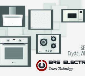 Eas Electric se centra en el diseño con sus electrodomésticos de cristal blanco
