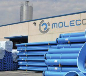 Molecor ampliará su capacidad con dos nuevas líneas de producción