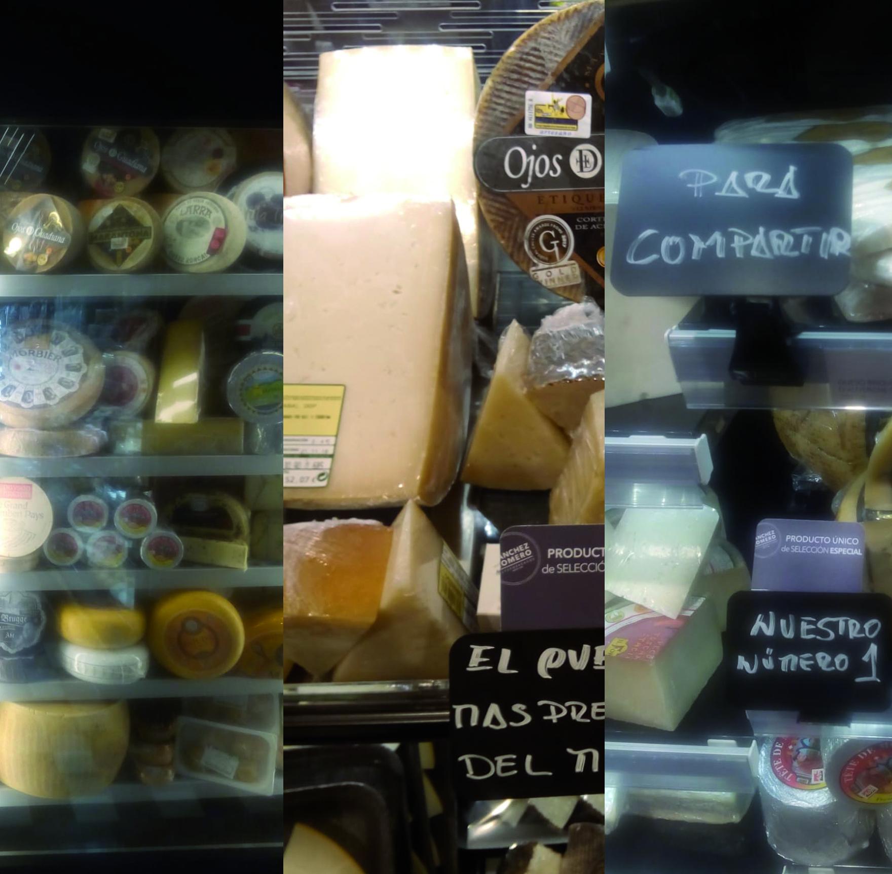 ¿Cómo es la experiencia de compra en un supermercado 'Sánchez Romero'?