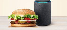 Burger King se une al lanzamiento de Alexa en España