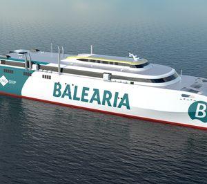 Baleària invierte 90 M€ en el primer catamarán a gas del mundo