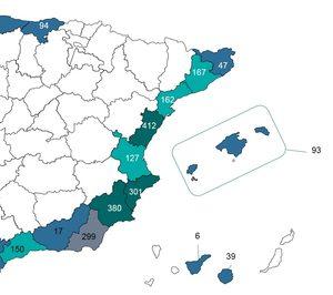 La Sareb invertirá 388 M€ para levantar 2.657 casas en Andalucía y Levante