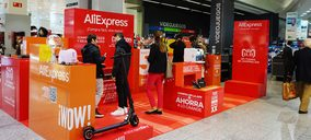 El Corte Inglés y AliExpress se alían para abrir una pop-up store en Madrid