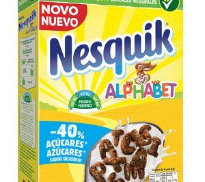 Nestlé lanza Nesquik Alphabet