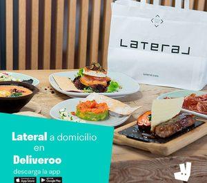 Grupo Lateral amplía su servicio a domicilio con Deliveroo
