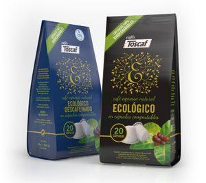 Cafés Toscaf presenta sus cápsulas compostables