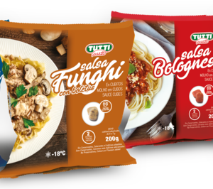 Tutti Pasta lleva sus salsas en porciones al canal retail