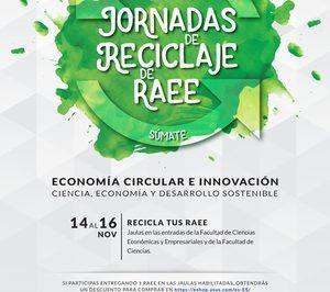 ERP organiza unas Jornadas de reciclaje de RAEE de la UAM