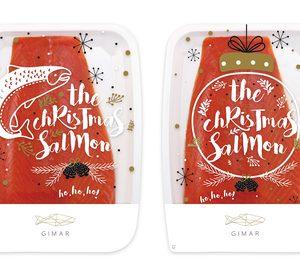El salmón ahumado de 'Gimar' cambia su imagen por Navidad