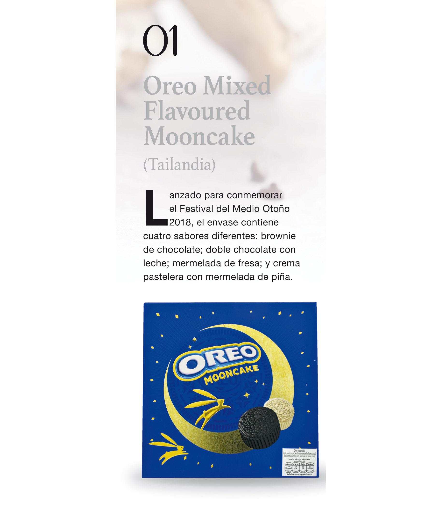 Oreo Mixed Flavoured Mooncake