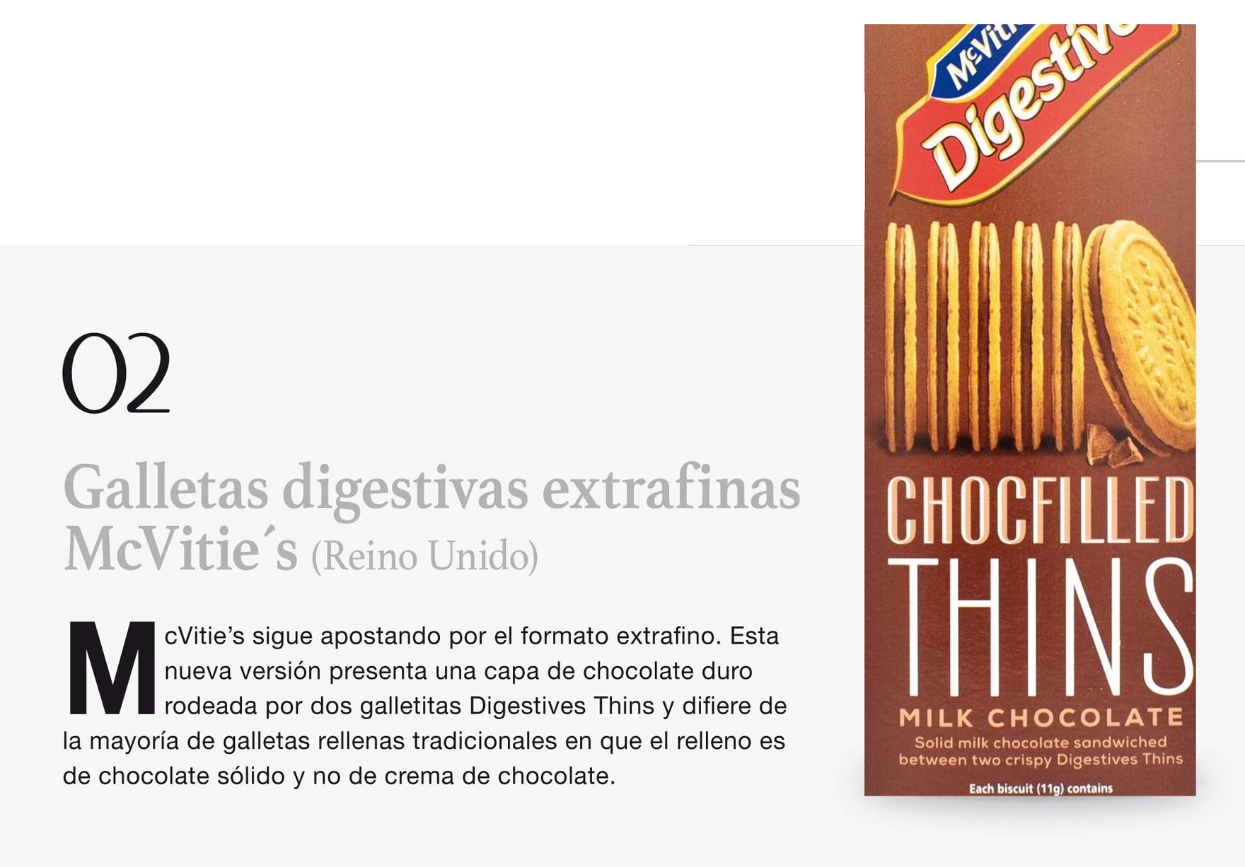 Galletas digestivas extrafinas McVitie´s