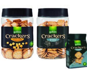 Gullón incorpora nuevas referencias a su gama 'Crackers'