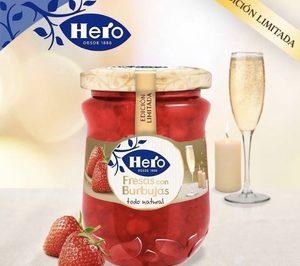 Hero presenta su nueva mermelada de fresas con burbujas