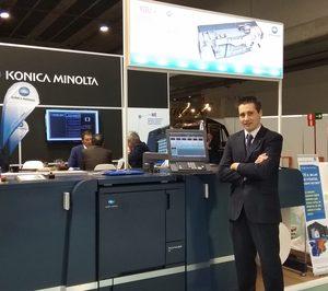 """Francisco J. Gil (Konica Minolta): """"Estamos trabajando en nuevos equipos digitales para sectores como el cartón ondulado"""""""