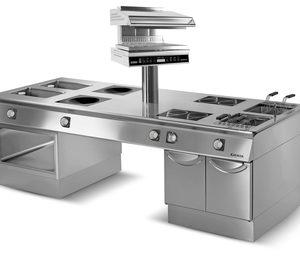 Eurofred incorpora la gama de cocinas horizontales de Giorik
